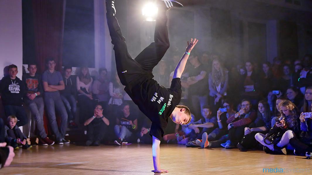Breakdance Vorführung