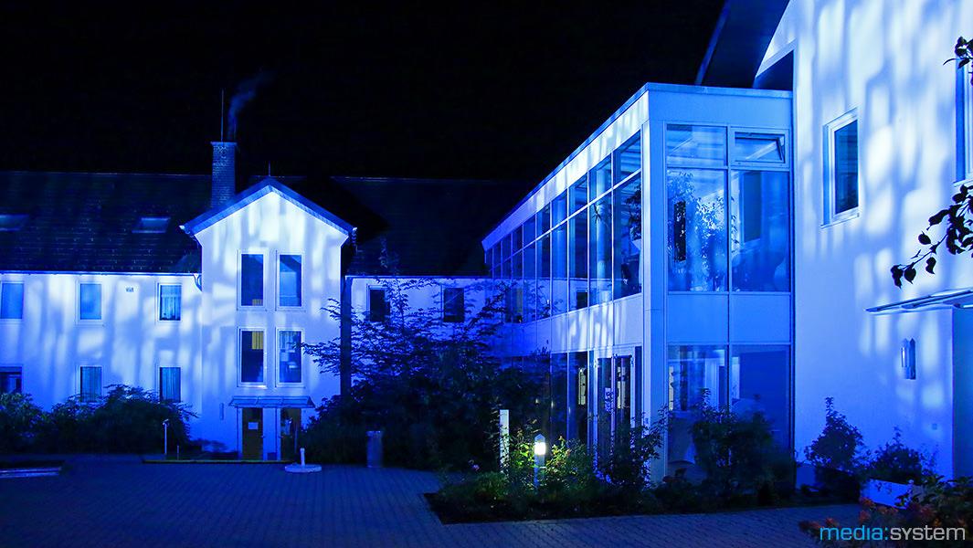 Gebäudeillumination