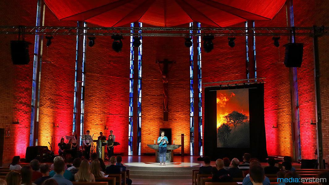 Jugendgottesdienst in der St. Joseph Kirche, Öhringen