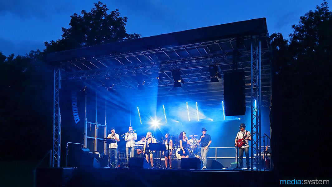 Breitenauer See Fest Lichttechnik