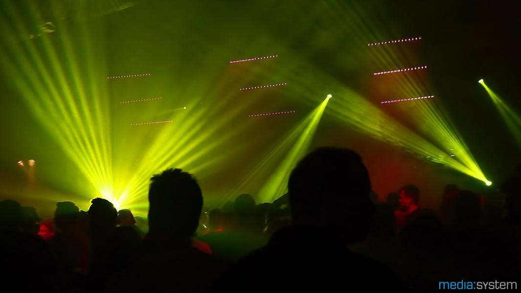 ZAOH Party 2014 mit Beschallungstechnik und Lichttechnik von media:system