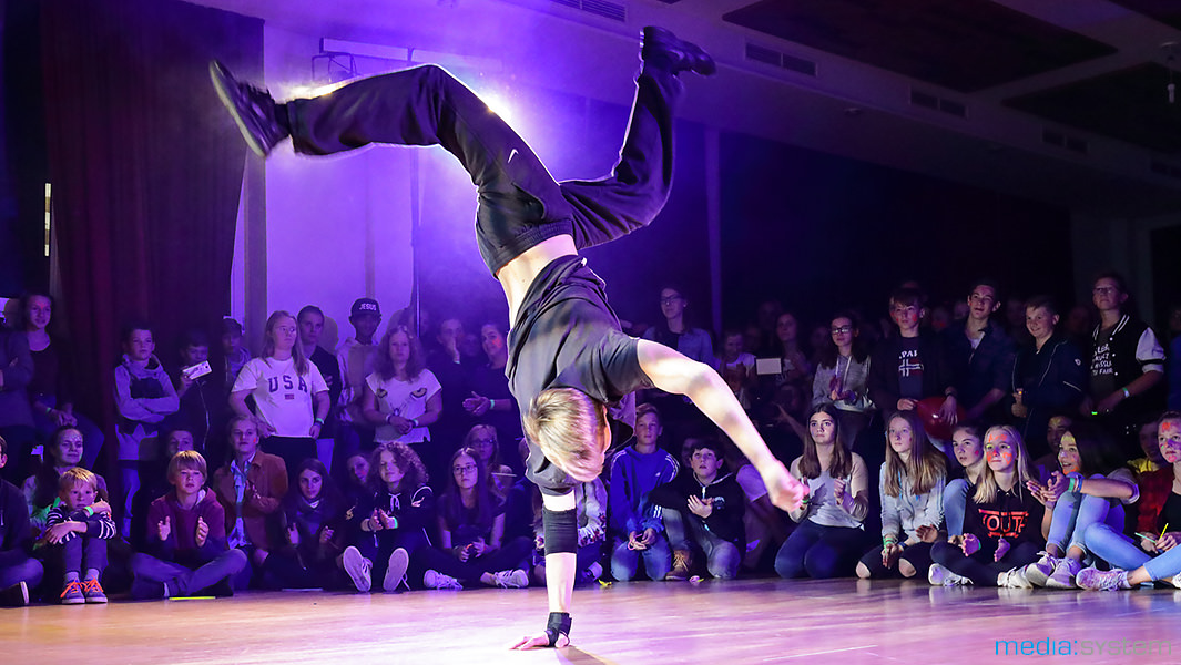 Breakdance-Vorführung