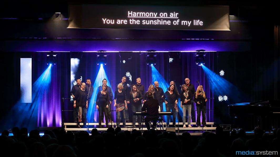 Harmony on air beim Grandprix der Popchöre 2017