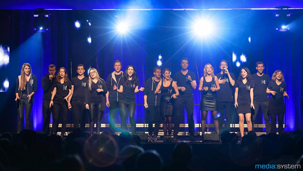 Beauties and the Beats beim Grandprix der Popchöre 2017