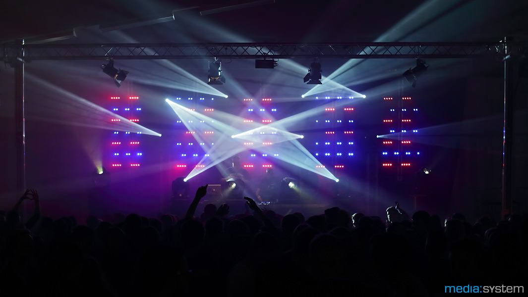 LED Matrix bei der HGÖ Abiparty 2014