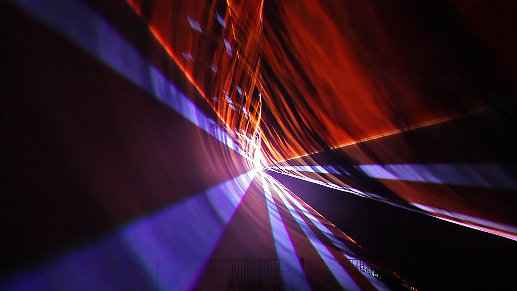 Lasershow als Hochzeitsgeschenk
