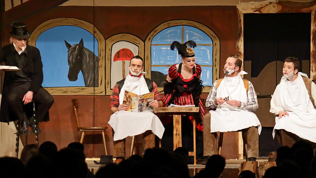 Jahresfeier des SC Michael mit Theateraufführung